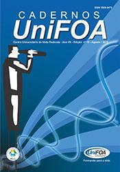 Visualizar v. 7 n. 18 (2012): Cadernos UniFOA